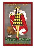 Veuve Amiot Plakat av Leonetto Cappiello