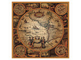 Cartographica II Kunst