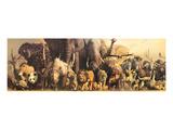 De ark van Noach Schilderij van Haruko Takino