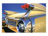 Cadillac Eldorado '59 in Athens Affiches par Graham Reynold