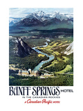Canadian Pacific, Banff in the Canadian Rockies Posters