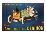 L'Amortisseur Derihon Posters by  Mich (Michel Liebeaux)