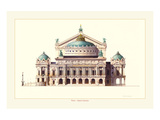 Paris, Opera Garnier Prints by Libero Patrignani