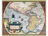 Mapa de América del Norte I Pósters