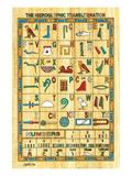 Hieroglyphic Transliteration Prints