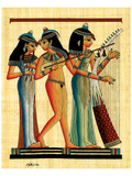 Egyptian Musicians Prints