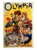 Olympia, The Shop Girl Operette Prints by Louis Galice