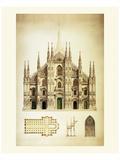 Il Duomo di Milano Affiches par Libero Patrignani