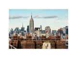 Manhattan Skyline Photographic Print by Philippe Hugonnard