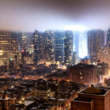 Foggy Night in Manhattan Photographic Print by Philippe Hugonnard
