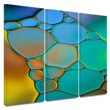 Connected II 3 piece gallery-wrapped canvas Prints by Cora Niele