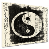 Tao 3 piece gallery-wrapped canvas Prints by Elena Ray