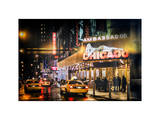 Instants of NY Series - Chicago the Musical Photographic Print by Philippe Hugonnard