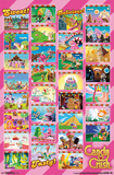 Candy Crush - Worlds Grid Posters