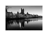 Central Park Reservoir Photographic Print by Philippe Hugonnard