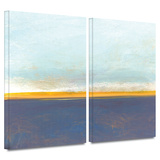 Big Country Sky I 2 piece gallery-wrapped canvas Posters by Jan Weiss