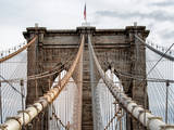 Brooklyn Bridge View Photographic Print by Philippe Hugonnard