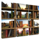 Story World 3 piece gallery-wrapped canvas Posters by Cynthia Decker