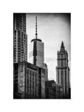 NYC University Campus and One World Trade Center (1WTC) Photographic Print by Philippe Hugonnard