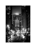 The Metlife Building Towers over Grand Central Terminal by Night Photographic Print by Philippe Hugonnard