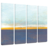 Big Country Sky I 4 piece gallery-wrapped canvas Prints by Jan Weiss