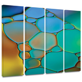 Connected II 4 piece gallery-wrapped canvas Gallery Wrapped Canvas Set by Cora Niele