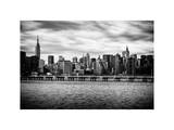 Landscape with the Chrysler Building and Empire State Building Views Photographic Print by Philippe Hugonnard