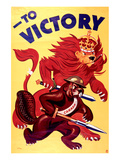 War Bonds to Victory Print