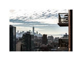 View of a Skyscraper - One World Trade Center (1WTC) and Midtown Manhattan Photographic Print by Philippe Hugonnard