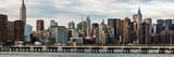 Panoramic Landscape with the Chrysler Building and Empire State Building Views Photographic Print by Philippe Hugonnard