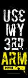 Pantera - Use my 3rd Arm Door Flag Poster