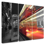 London III 3 piece gallery-wrapped canvas Gallery Wrapped Canvas Set by Revolver Ocelot