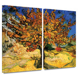 Mulberry Tree 2 piece gallery-wrapped canvas Art by Vincent van Gogh