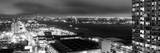 Manhattan Night Panoramic Landscape with Fog Photographic Print by Philippe Hugonnard