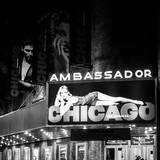 Chicago the Musical - the Ambassador Theatre in Times Square by Night Photographic Print by Philippe Hugonnard