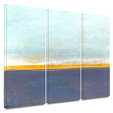 Big Country Sky I 3 piece gallery-wrapped canvas Print by Jan Weiss