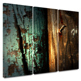 Wood and Nail 3 piece gallery-wrapped canvas Prints by Mark Ross