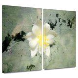 Urban Attitude 2 piece gallery-wrapped canvas Art by Mark Ross