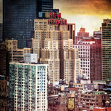 Instants of NY Series - Cityscape Manhattan Buildings Photographic Print by Philippe Hugonnard