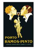 Porto Ramos-Pinto Plakater av René Vincent