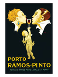 Porto Ramos-Pinto Posters by René Vincent