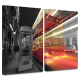 London III 2 piece gallery-wrapped canvas Posters by Revolver Ocelot