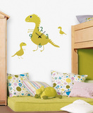 Time For Dragons Clock Wall Decal Wall Decal