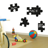 Remember Puzzle Chalkboard Wall Decal Autocollant mural