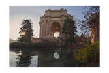 Palace of Fine Arts San Francisco Building and Reflecting Pool Photographic Print by Henri Silberman