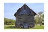 Old Tobacco Barn Photographic Print by Henri Silberman