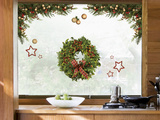 Sweet Christmas Home Window Sticker Decal Vinilo para ventana