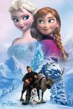 アナと雪の女王 - コラージュ ポスター