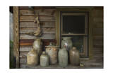Ceramic Jugs Still-Life Photographic Print by Henri Silberman