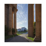 Palace of Fine Arts Columns San Francisco 1 Photographic Print by Henri Silberman